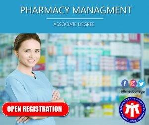 Pharmacy Management Associate Degree